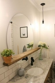 17 Great Bathroom Mirror Ideas 05