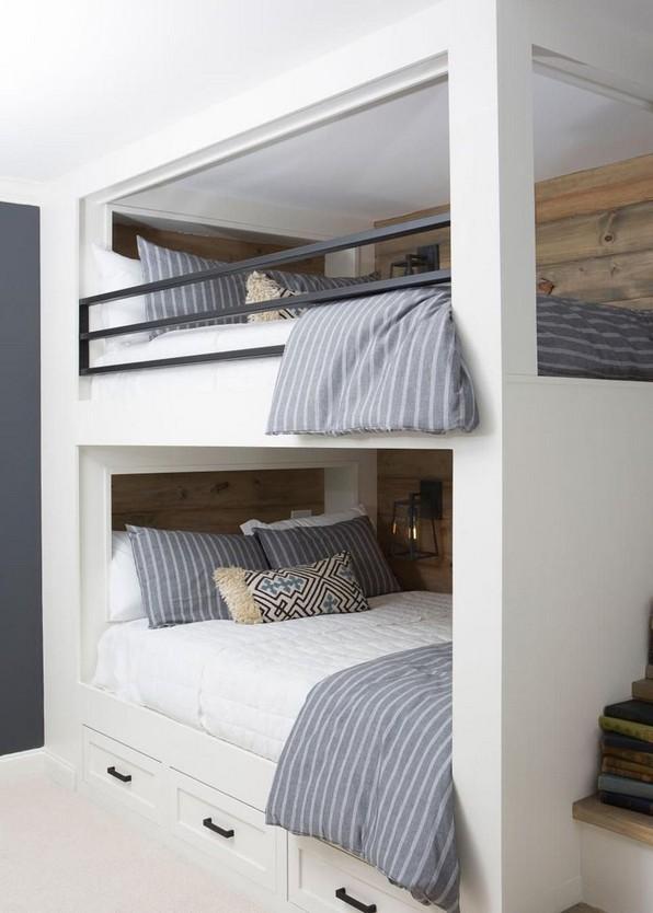 17 Most Popular Floating Bunk Beds Design 02