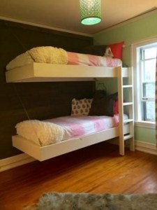 17 Most Popular Floating Bunk Beds Design 12