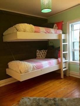 17 Most Popular Floating Bunk Beds Design 12