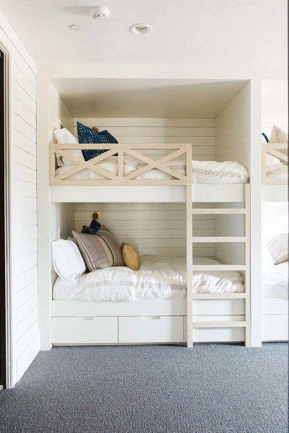 17 Most Popular Floating Bunk Beds Design 20