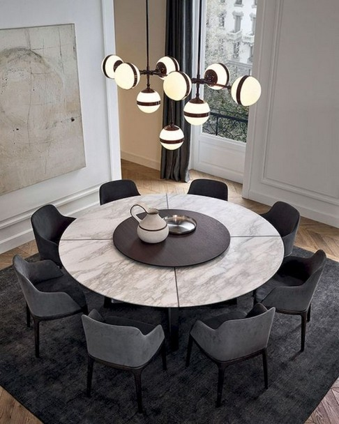 17 Most Popular Of Modern Dining Room Tables In A Contemporary Style 12