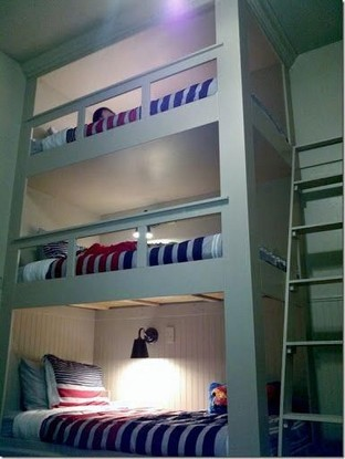 17 Top Picks For A Triple Bunk Bed For Kids Rooms 02