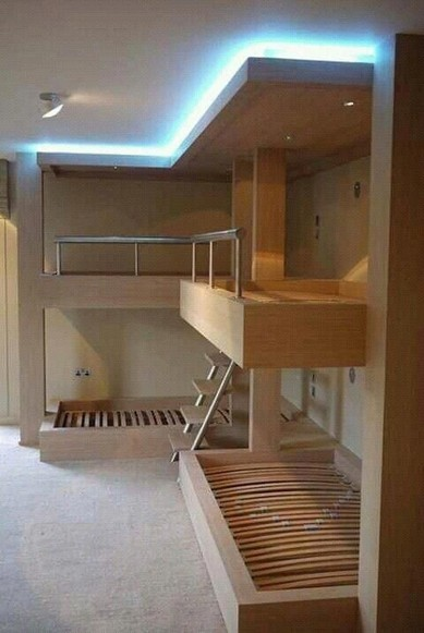 17 Top Picks For A Triple Bunk Bed For Kids Rooms 03