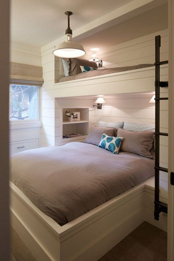 18 BBunk Bed Design Ideas With The Most Enthusiastic Desk In Interest 21