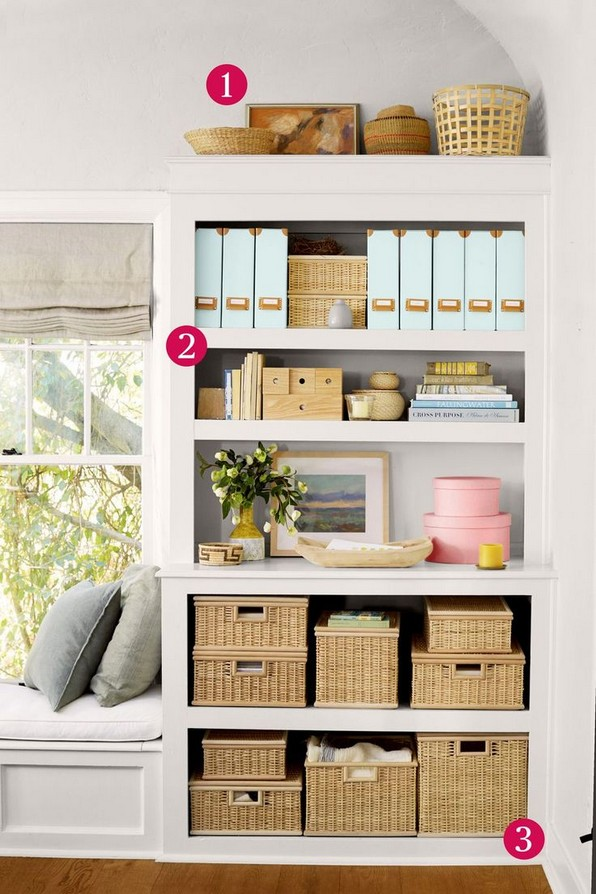 18 Bookshelf Organization Ideas 07