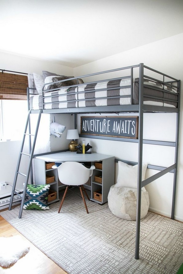 18 Boys Bunk Bed Room Ideas – 4 Important Factors In Choosing A Bunk Bed 07