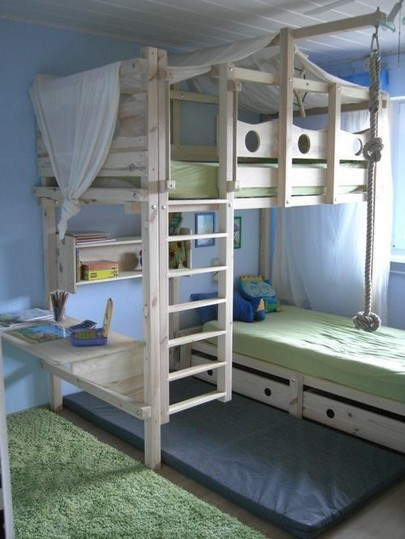 18 Boys Bunk Bed Room Ideas – 4 Important Factors In Choosing A Bunk Bed 25