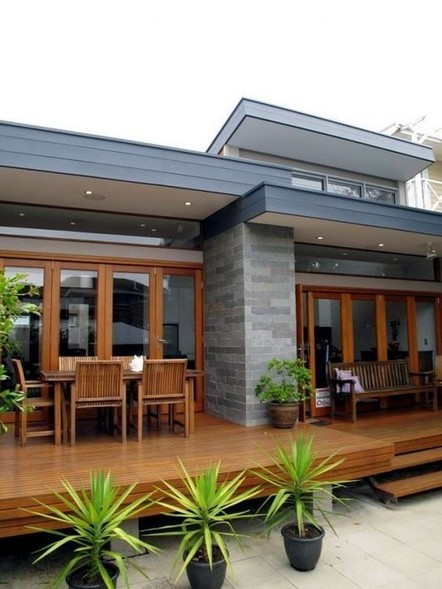 18 Examples Of Amazing Contemporary Flat Roof Design Of A House 01