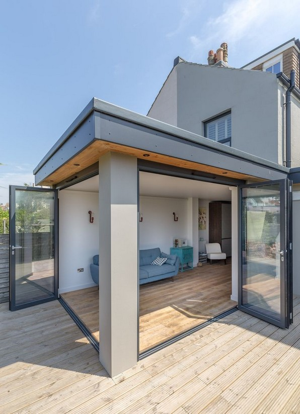 18 Examples Of Amazing Contemporary Flat Roof Design Of A House 03