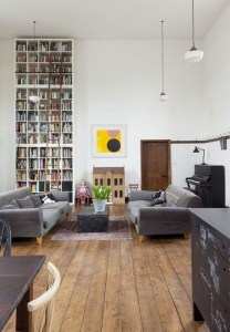 18 Fantastic Floor To Ceiling Bookshelves With Ladder 13
