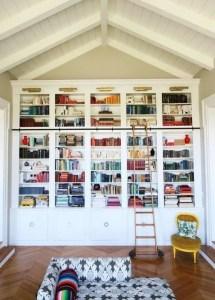 18 Fantastic Floor To Ceiling Bookshelves With Ladder 21