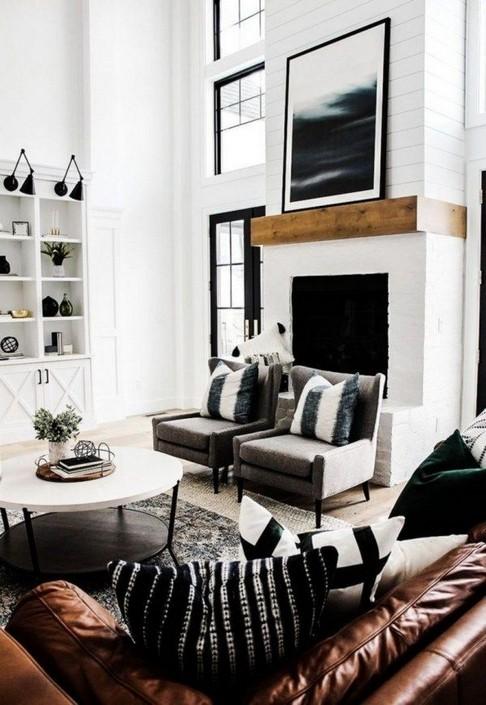 18 Modern Rustic Living Room Furniture 03