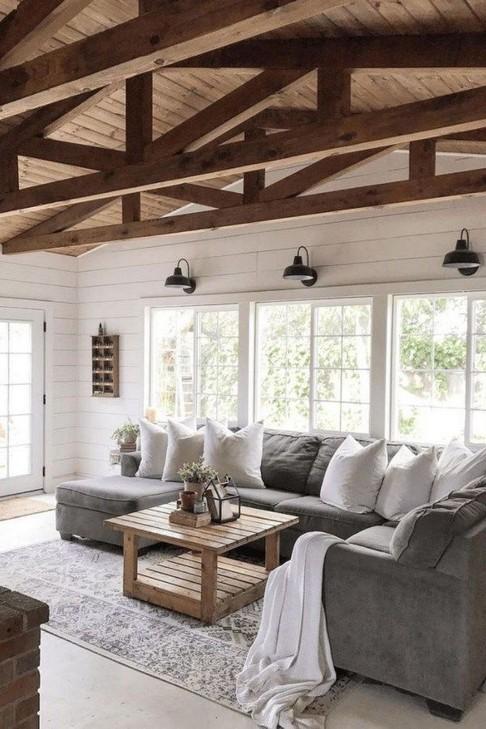 18 Modern Rustic Living Room Furniture 12