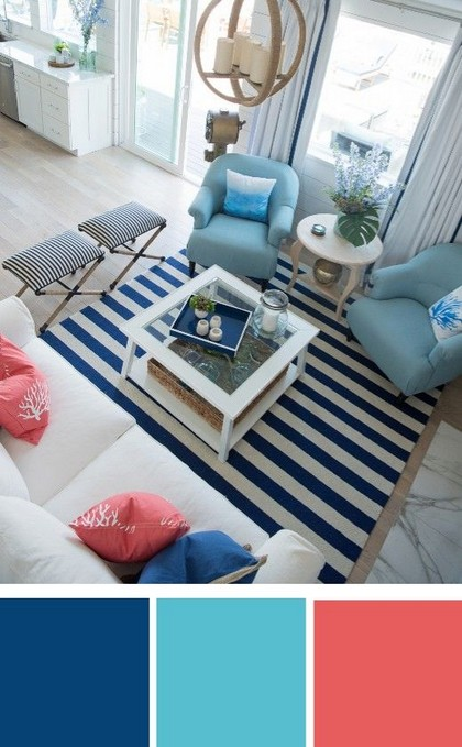 18 Popular Living Room Colors To Inspire Your Apartment Decoration 19