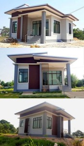 18 Top Choices Beautiful Modern 2 Story House 04