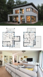 18 Top Choices Beautiful Modern 2 Story House 08