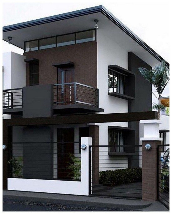 18 Top Choices Beautiful Modern 2 Story House 11
