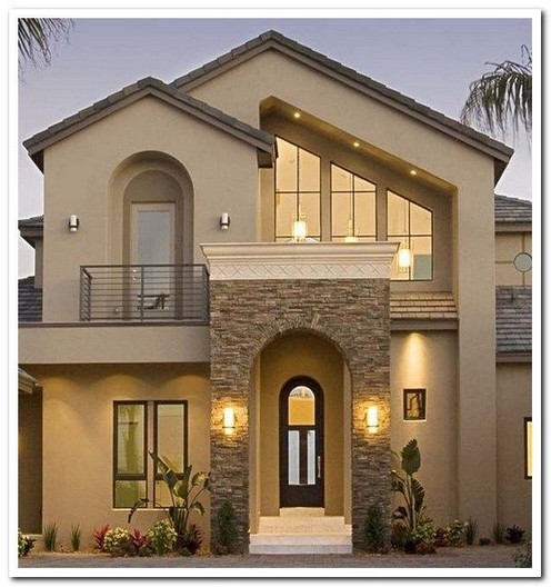 18 Top Choices Beautiful Modern 2 Story House 12