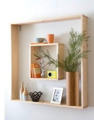 18 Top Choices Wood Wall Shelf 07