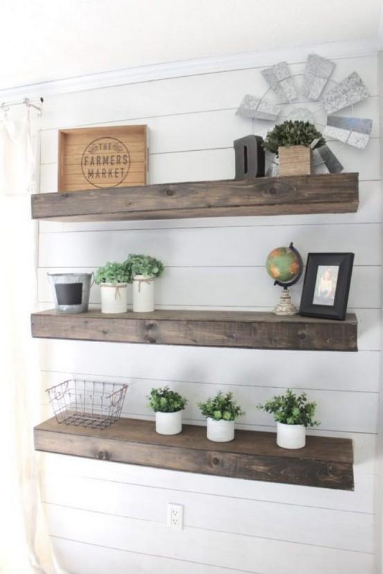 18 Top Choices Wood Wall Shelf 20