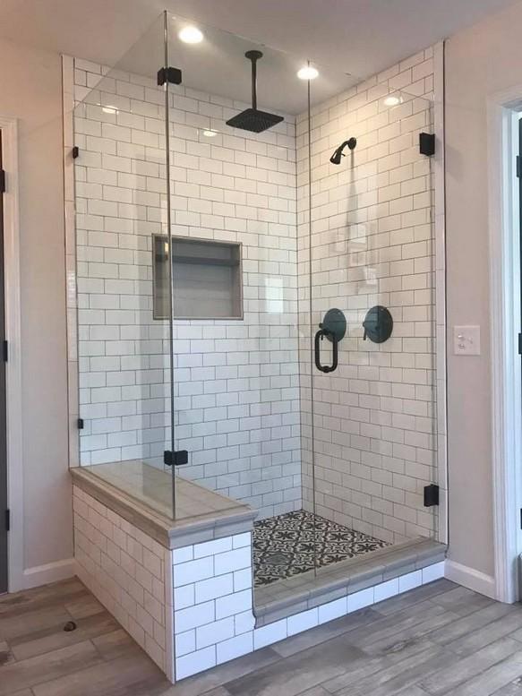 19 Bathroom Shower Makeover Decor Ideas 06