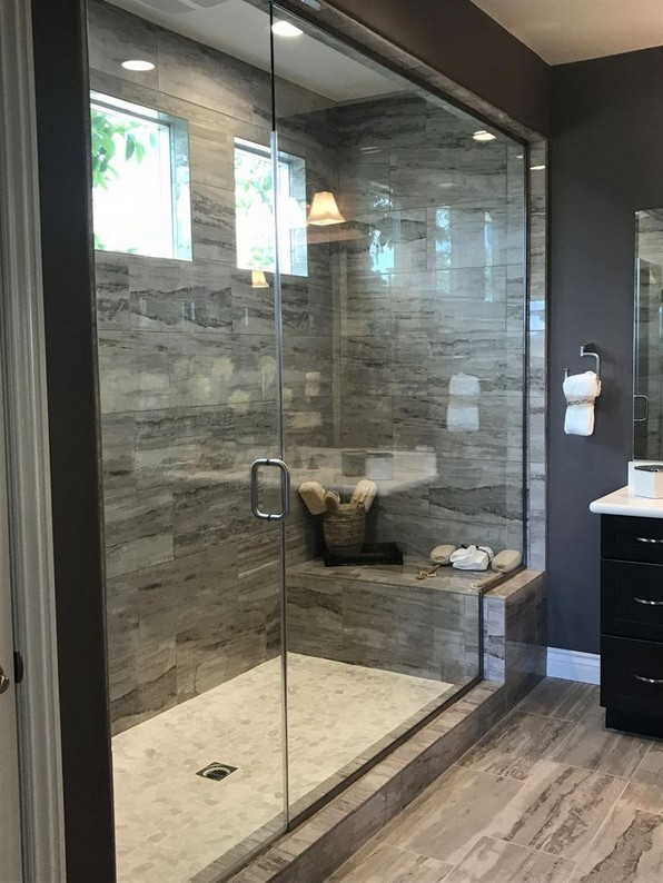 19 Bathroom Shower Makeover Decor Ideas 12