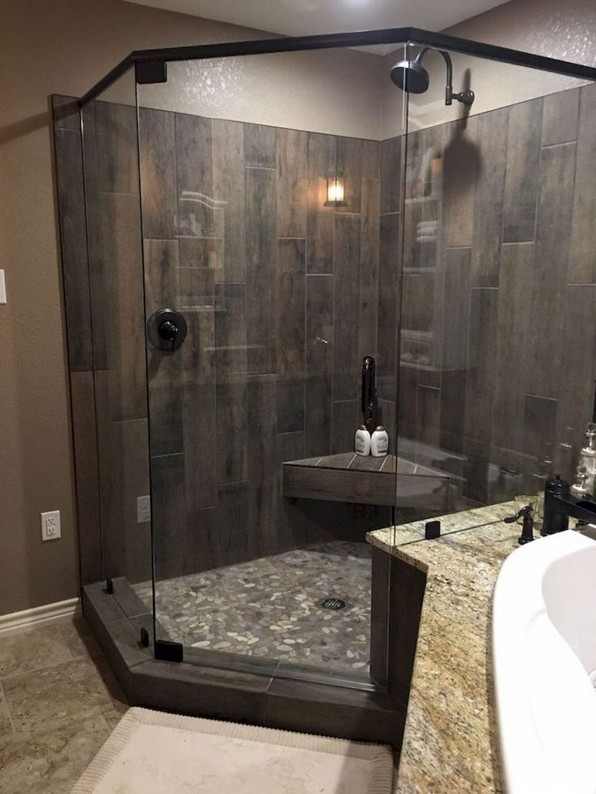 19 Bathroom Shower Makeover Decor Ideas 15