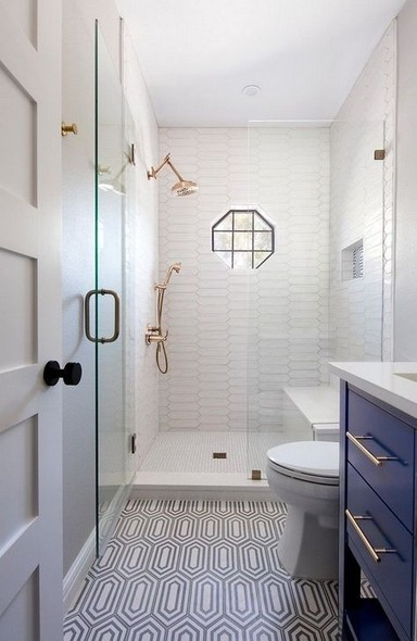 19 Bathroom Shower Makeover Decor Ideas 19