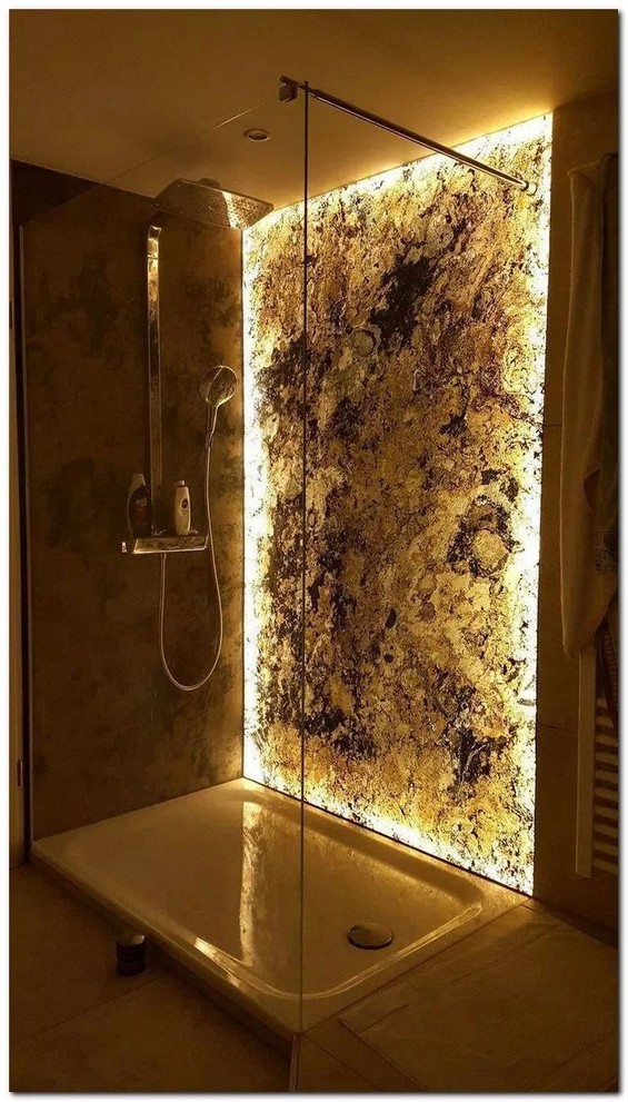 19 Bathroom Shower Makeover Decor Ideas 20