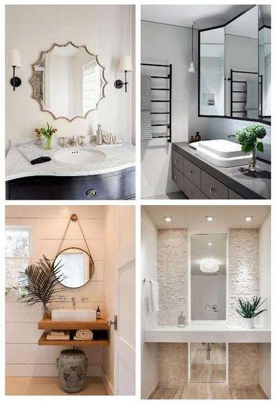 19 Great Bathroom Mirror Ideas 25