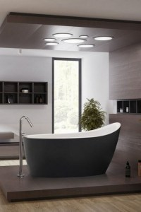 19 Pleasurable Master Bathroom Ideas 23