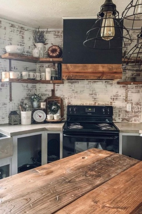 19 Rural Kitchen Ideas For Small Kitchens Look Luxurious 04