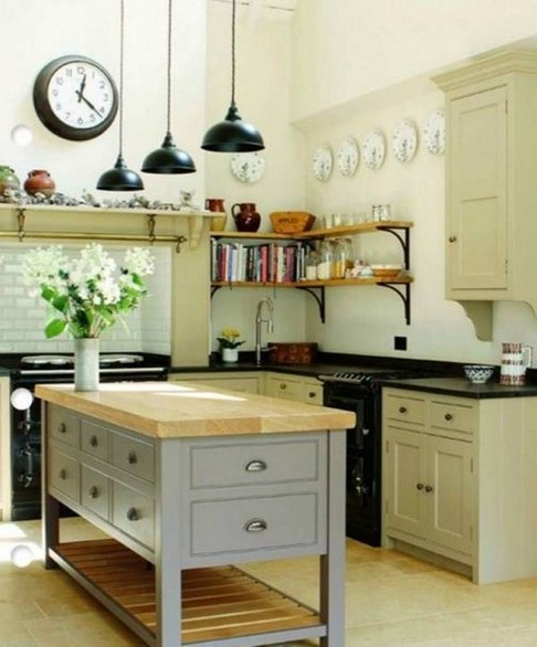 19 Rural Kitchen Ideas For Small Kitchens Look Luxurious 05