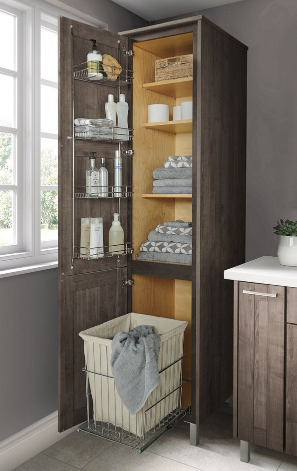 19 Small Bathroom Storage Decoration Ideas 05