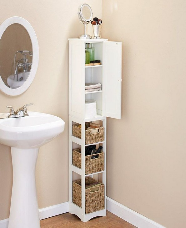 19 Small Bathroom Storage Decoration Ideas 11