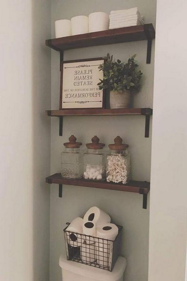 19 Small Bathroom Storage Decoration Ideas 17