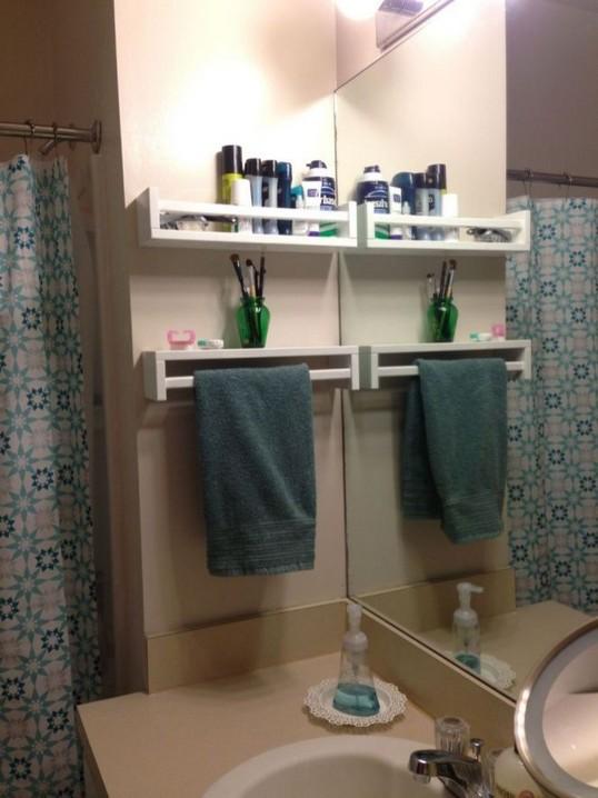 19 Small Bathroom Storage Decoration Ideas 22