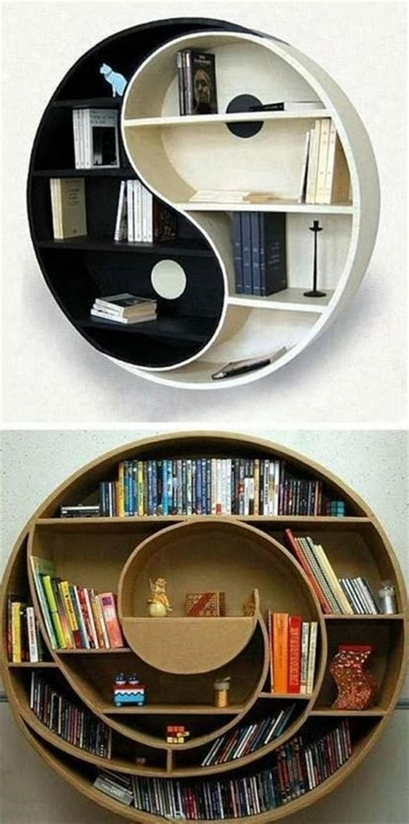 19 Unique Bookshelf Ideas For Book Lovers 22