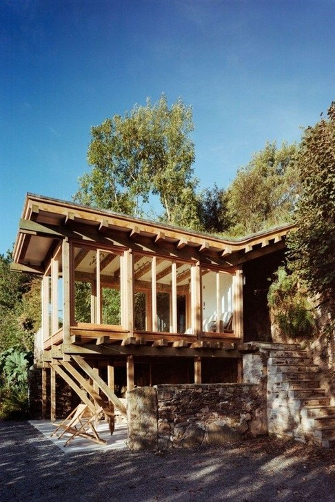 17 Beautiful Mountain Cabin Plans Hillside 06