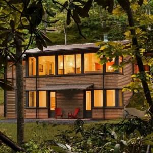 17 Beautiful Mountain Cabin Plans Hillside 21