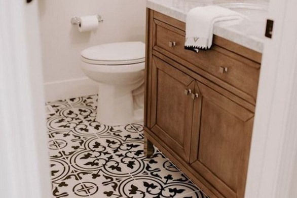 19 Beautiful Bathroom Tile Ideas For Bathroom Floor Tile 15