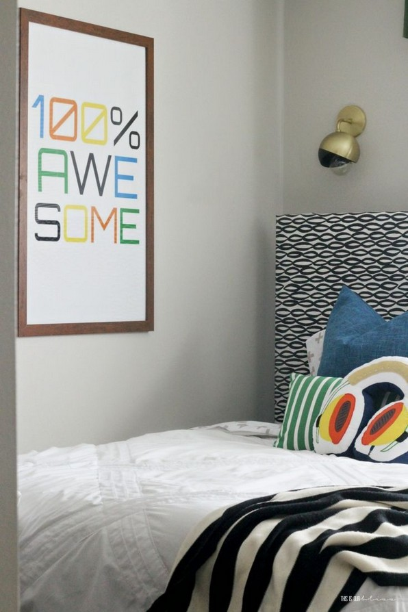 20 Great Ideas For Decorating Boys Rooms 05