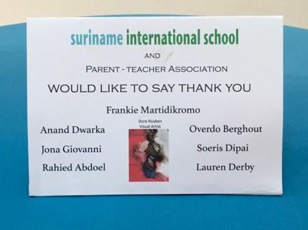 Check it out--that's my name! To SIS, I'd like to say: Thanks for having me!