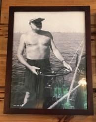 Hemingway at the helm.