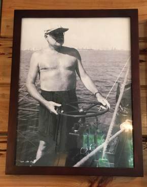 Hemingway at the helm.