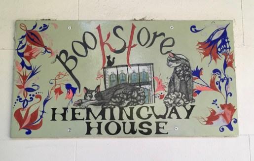 As always, a nod to Hemingway house's horde of feline residents.
