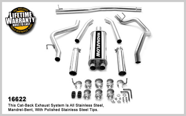 Magnaflow 16622: Exhaust System for DODGE DAKOTA 2005-2006