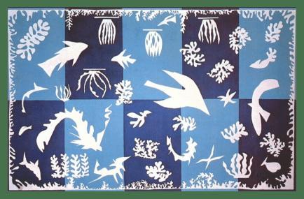 Polynesia, the Sea by Henri Matisse