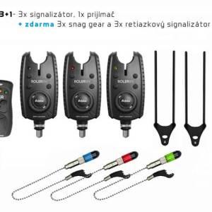 Signalizátor Delphin ROLER 9V + Snag-gear Al Sada 3+1